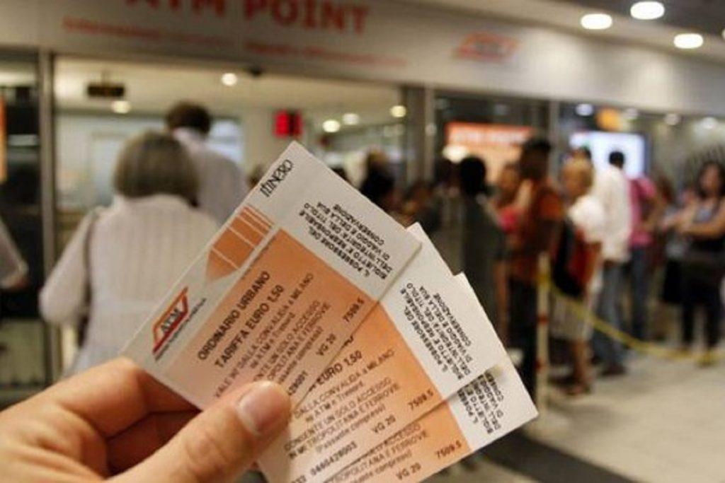 biglietti aumenti ATM metropolitana