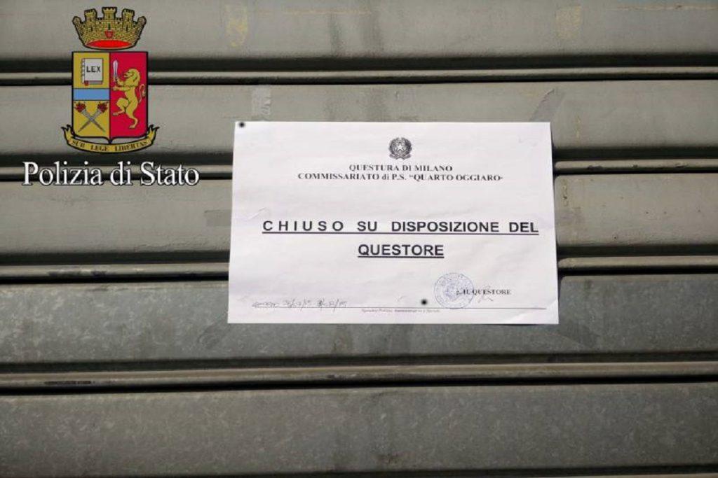 via Tavazzano sale scommesse sala slot Sparatoria trattoria compro oro centro scommesse comasina sospesa licenza