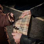 scippo Poliziotto anziana rapinata androne
