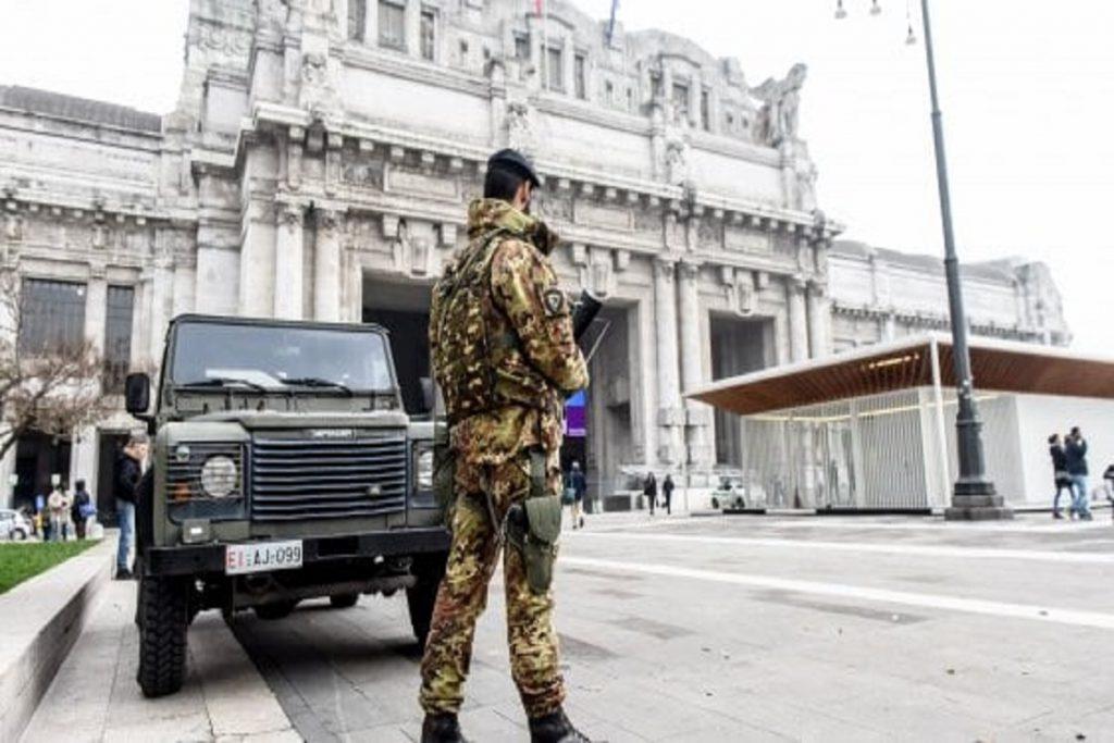 furto latitante bosniaca libico stazione centrale militari