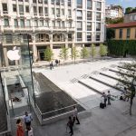 fontana dell'Apple Stor