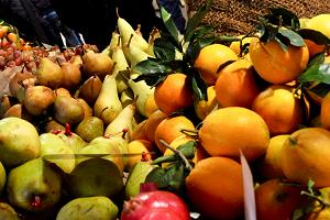 Frutta a metà mattina
