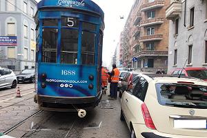 Deraglia tram disastro annunciato