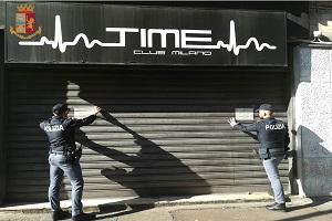 Sospesa la licenza alla discoteca Time Club Milano