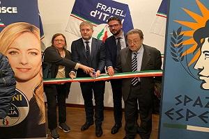 Spazio Esperia: nasce un nuovo circolo Fratelli d'Italia sui navigli