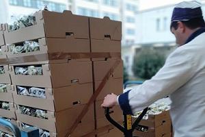 Mense scolastiche chiuse, donate 3 tonnellate di cibo ai poveri