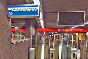 polmetro Cinque arresti per borseggio in metropolitana