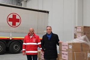 Croce Rossa dona 40 respiratori per l'ospedale in fiera