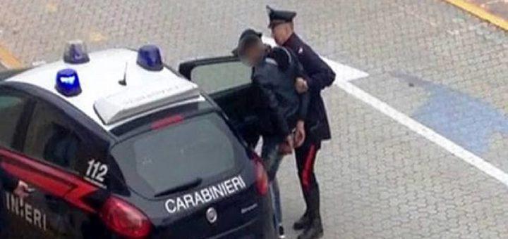 arrestato dai Carabinieri marocchino