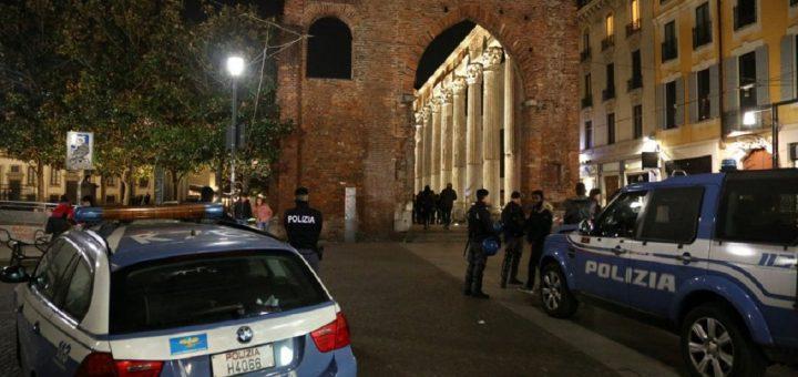 colonne di san lorenzo polizia