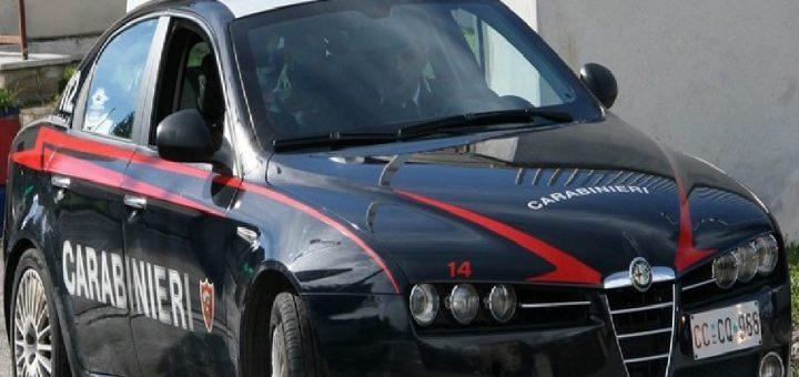gas Sei rapine carabinieri