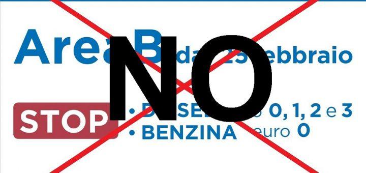 NO area B forza italia