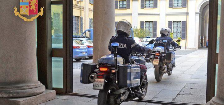 polizia motociclisti nibbio