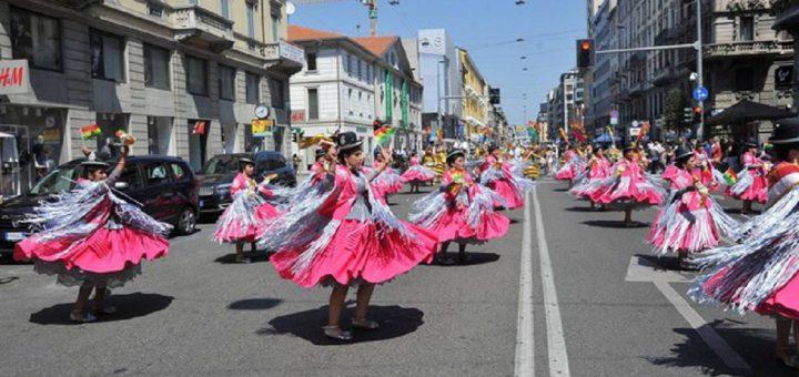 Festa boliviana