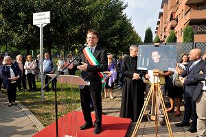 Inaugurati il Parco della Lambretta e la Passeggiata Monsignor Baroni