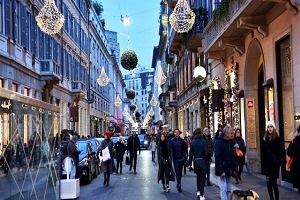 Montenapoleone quinta via commerciale più costosa