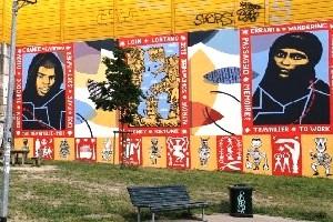38.000 euro per un murales pro-migranti