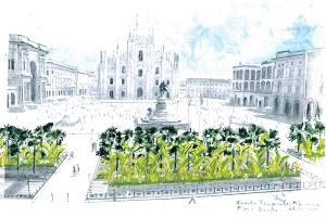 I banani rimarranno in Duomo per altri tre anni
