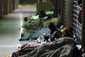 Trovato senzatetto morto Attivato il piano freddo per i senzatetto