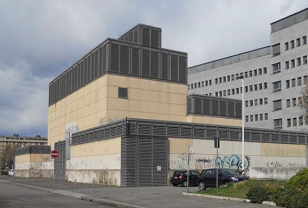 Edificio U19, foto da via Boschi Di Stefano