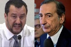Festa Inter: scontro fra Salvini e Sala Scontro Sala - Salvini sulla gestione della nevicata Salvini: Sala non lascia niente. Sala: Salvini convince nemmeno più i suoi compagni di partito Nervi tesi fra Sala e Salvini
