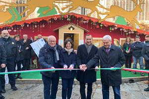 Inaugurato il Mercatino di Natale in Duomo
