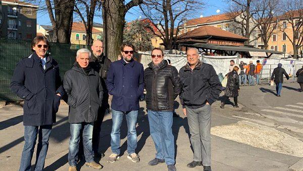 Sopralluogo di Fratelli d'Italia al Pane Quotidiano di viale Monza
