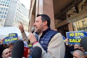 Salvini lancia la sfida a Sala