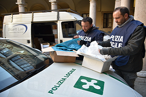 Sequestrati 610mila sacchetti di plastica non a norma