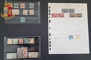 Tre arresti per ricettazione di francobolli rubati