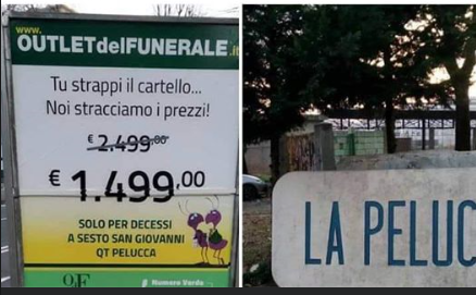 outlet funerale