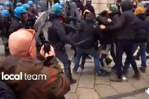 San Vittore, la sinistra chiede l'indulto e gli autonomi attaccano la Polizia