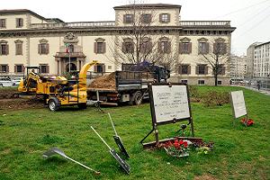 Nuove aiuole alberate in piazza Beccaria e un'area giochi alla Barona