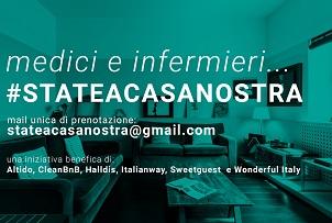 StateACasaNostra, iniziativa portata avanti da Italianway e altre 5 grandi aziende italiane dell'extra alberghiero
