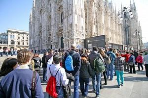 Turismo in città crollato del 95%