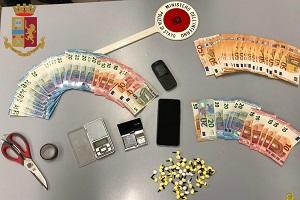 Un arresto per spaccio in viale Monza