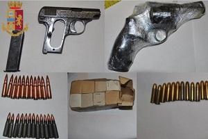Un arresto per spaccio e detenzione d'armi
