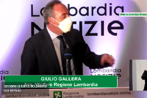 Gallera: in Lombardia lanciamo la banca del plasma iper immune