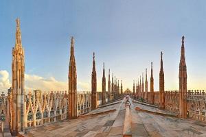 Riapre il terrazzo del Duomo