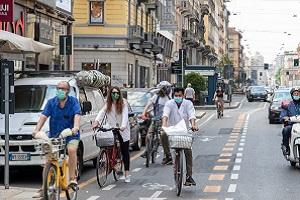 Esposto di De Corato (FdI) contro la ciclabile di Corso Buenos Aires