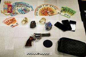 Arrestato Marocchino con una Smith & Wesson