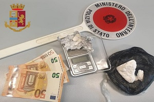 Arrestato spacciatore di cocaina in via Ornato
