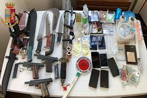 Droga e armi in un orto del Municipio 5