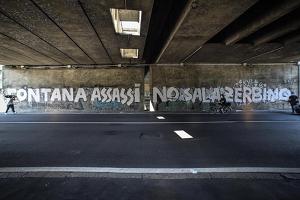 Identificati e indagati sei antagonisti di CARC e ZAM per le scritte contro Fontana