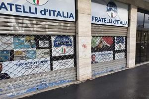 Assalto alla sede di FdI, De Chirico (FI): da sinistra un silenzio complice