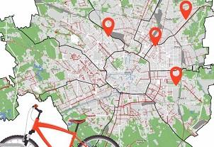 mappa bici italiano