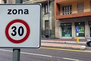 Via Ascanio Sforza pedonale e nuove zone 30