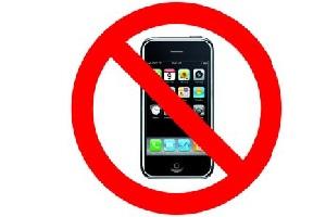 Vieta l'utilizzo di smartphone e tablet a un truffatore
