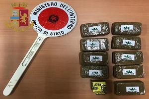 Cinque arresti e 3 chili e mezzo di droga sequestrati