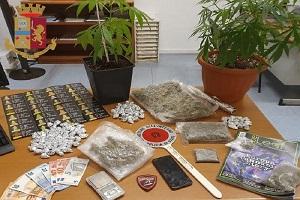 Arrestato 22enne con più di mezzo chilo di droga